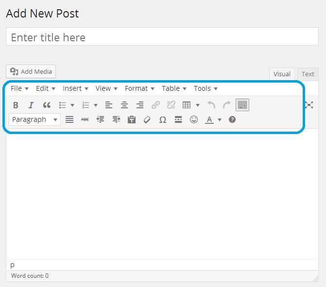 Wordpress Visual Editor Dynamic Editor