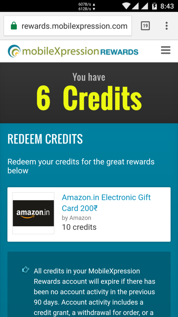 mobile xpression gift cards