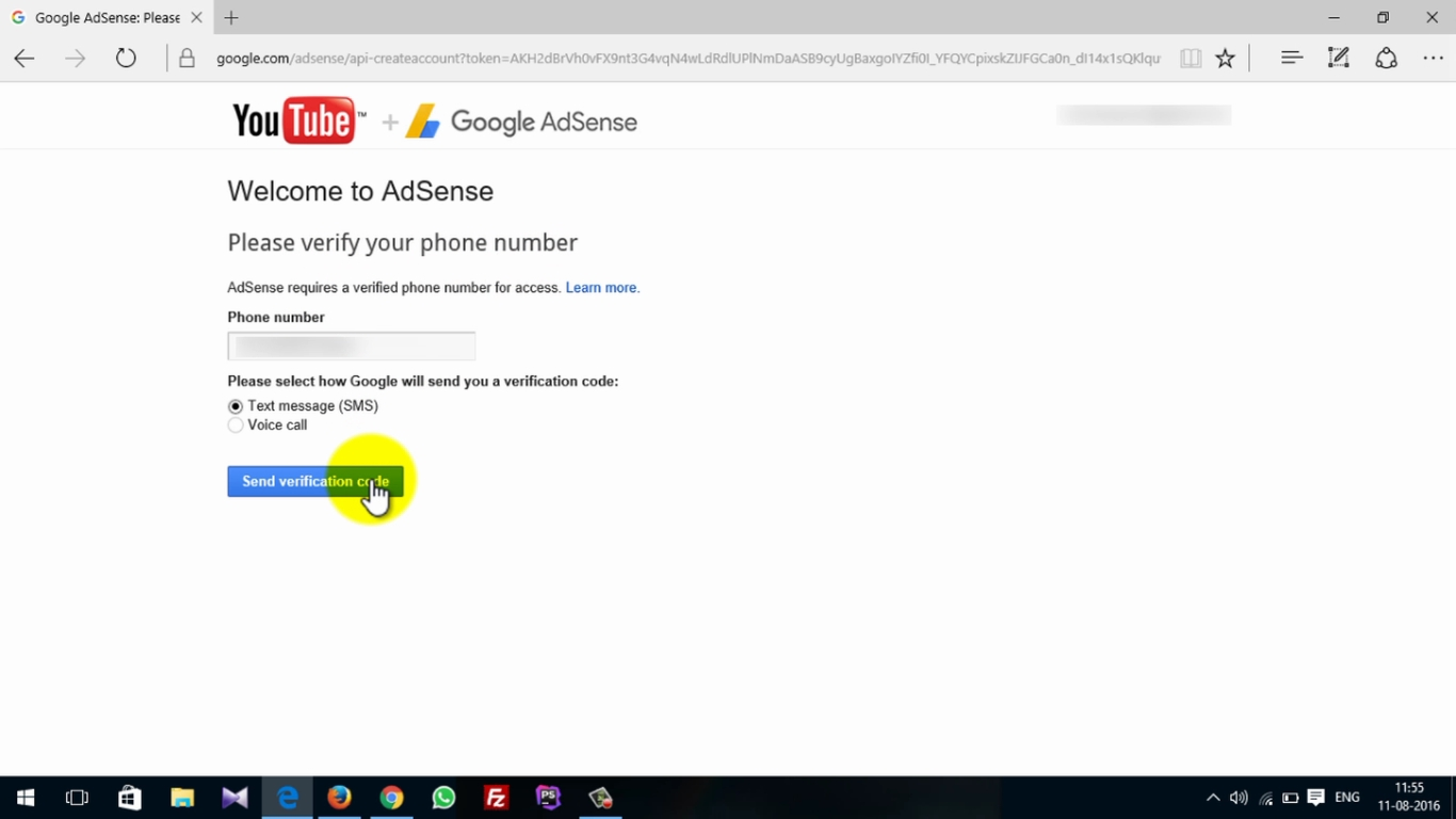 How To Activate Adsense On Youtube 11