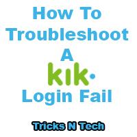 log in kik