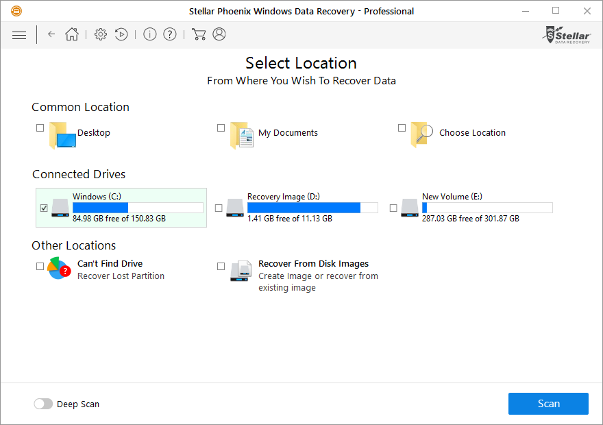 How to recover lost data - partition from Windows system 2