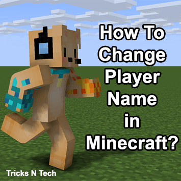 How To Change Player Name in Minecraft