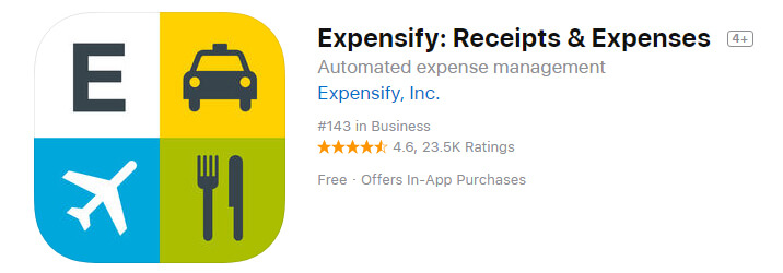 Expensify Receipts & Expenses