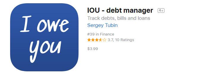 IOU Debt Manager