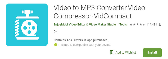 VidCompact Video Compressor