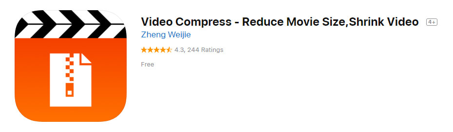Video Compress Reduce Movie Size