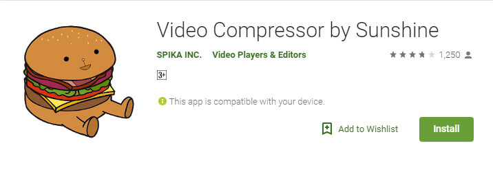 Video Compressor by Sunshine