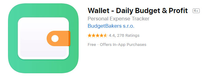 Wallet Daily Budget & Profit