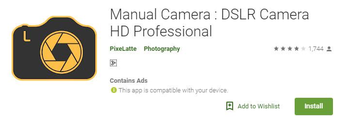 Manual Camera