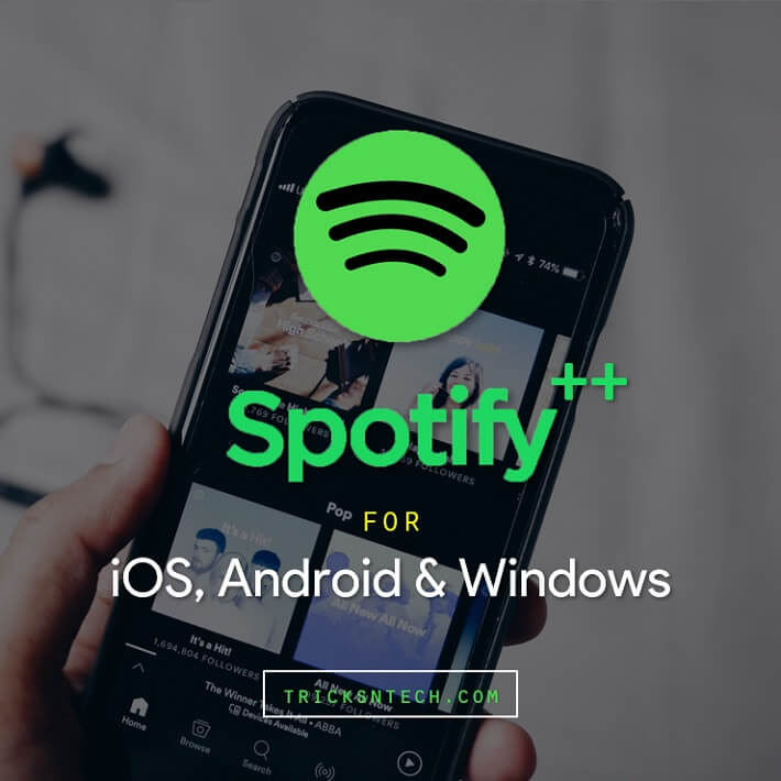 Spotify++ Download For iOS iPhone, Android & PC [Free