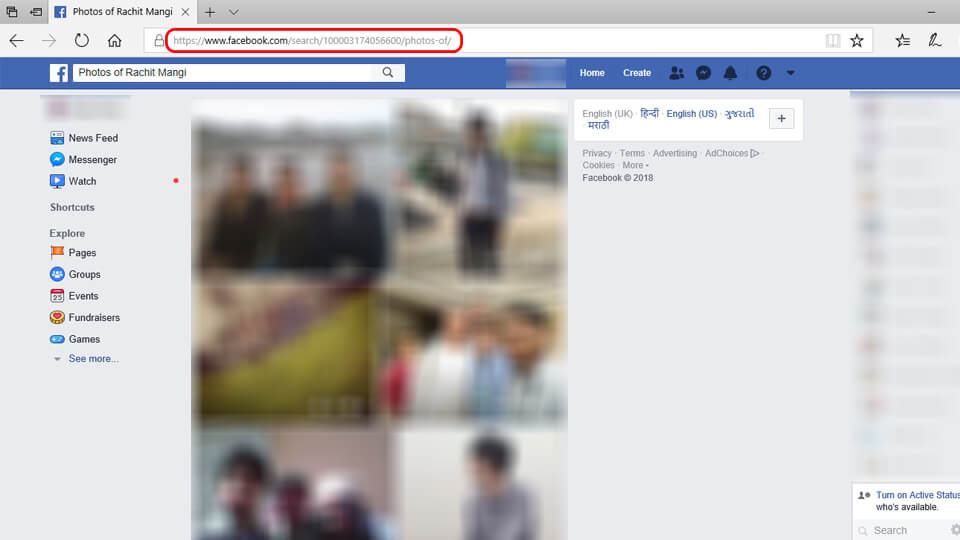 See Someones Hidden Facebook Photos
