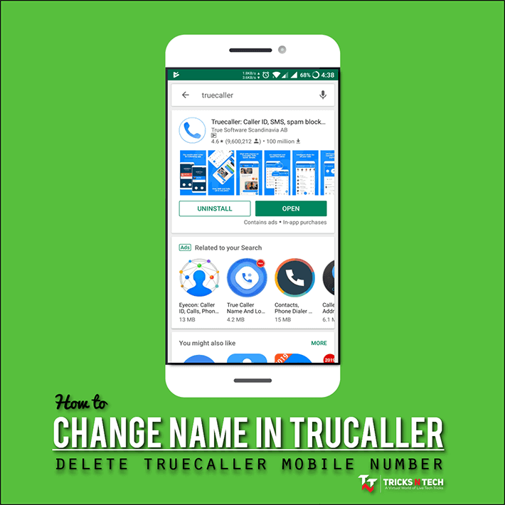 change name in truecaller