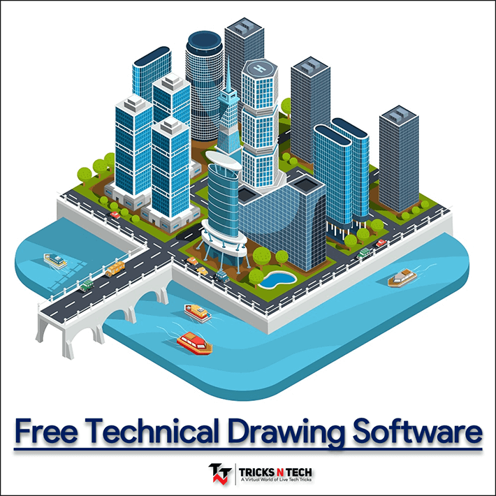 free technical drawing software