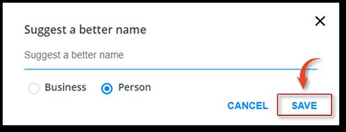 change name from truecaller website