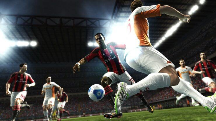 Pro Evolution Soccer highly compressed
