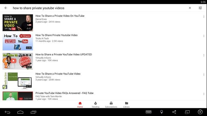 YouTube APK Windows