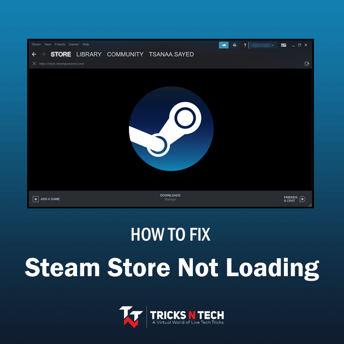 Fix Steam Store Not Loading
