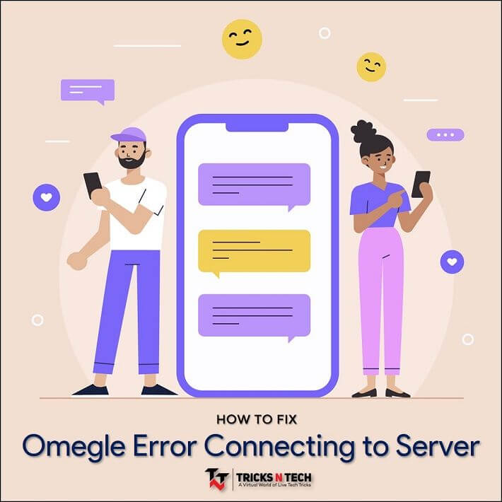 Omegle connecting to server