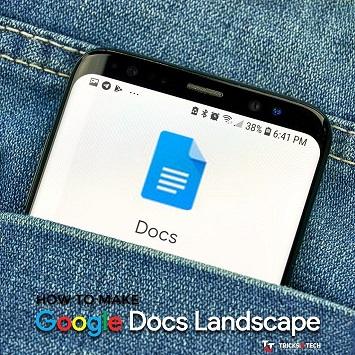 Google Docs Landscape
