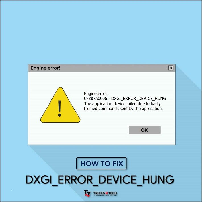 Fix DXGI_ERROR_DEVICE_HUNG