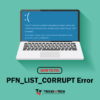 Fix PFN LIST CORRUPT Error