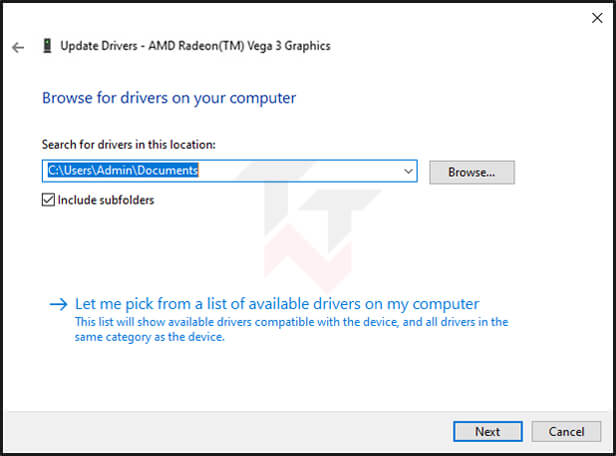 Install old driver